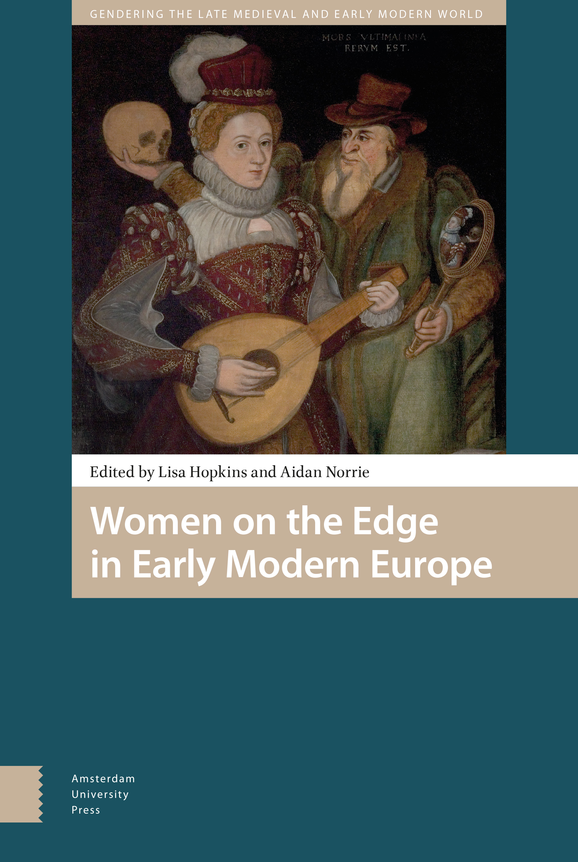 Book cover for Women on the Edge in Early Modern Europe